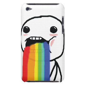 Kotzende Regenbogen iPod Touch Etuis