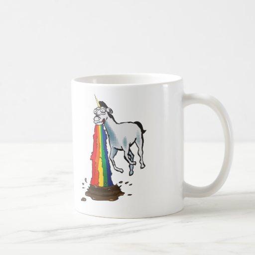 Kotzende Unicorn-Tasse