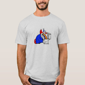 Kotzendes Clown-Shirt T-Shirt
