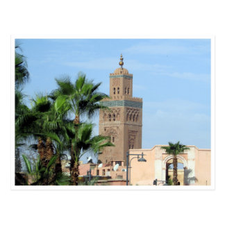 koutoubia Moschee Postkarte