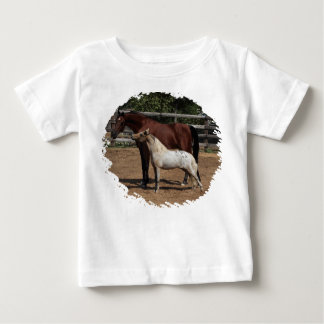 KpM PferdeFoto T-Stück Baby T-shirt