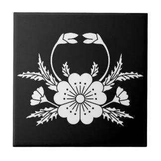Krabbe-förmige Kirschblüte (EDO) Keramikfliese