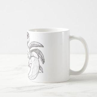 Krabbe Kaffeetasse