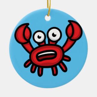 Krabbe Luigi Keramik Ornament