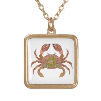 Krabbe Vergoldete Kette