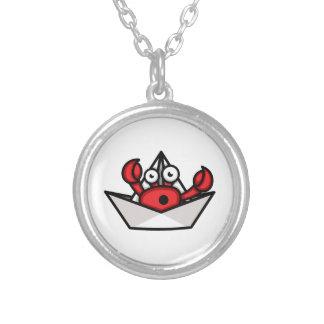 Krabben-Einsiedler Versilberte Kette