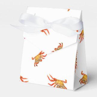 Krabben-Foto-Collagen-Muster-Entwurf Geschenkschachtel