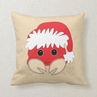 Krabben-Kissen Weihnachtssankt Sandy Kissen