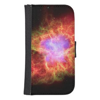 Krabben-Nebelfleck Superdense Neutron-Stern Geldbeutel Hülle Für Das Samsung Galaxy S4