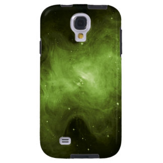 Krabben-Nebelfleck, Supernova-Rest, grünes Licht Galaxy S4 Hülle