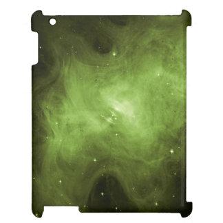 Krabben-Nebelfleck, Supernova-Rest, grünes Licht iPad Hülle
