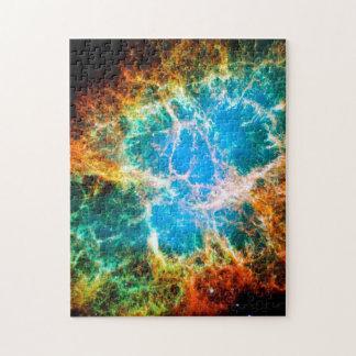 Krabben-Nebelfleck-Supernova-Rest Hubble Raum-Foto Puzzle