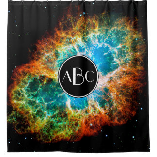 Krabben-Nebelfleck-Supernova-Rest mit Duschvorhang