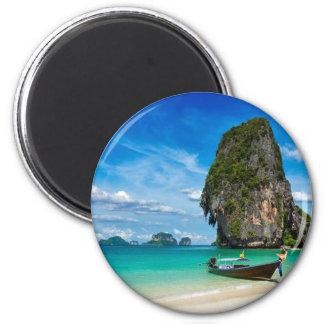 Krabi Insel Runder Magnet 5,1 Cm