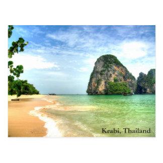 Krabi, Thailand Postkarte