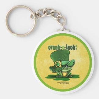 Krächzen-O-Glück Iren keychain Schlüsselanhänger