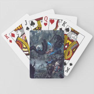 Kraeburne Wald Spielkarten