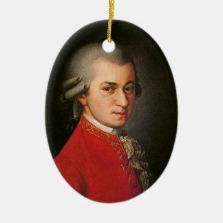 Krafft Mozart Porträt-klassische Musik-Dekoration Keramik Ornament