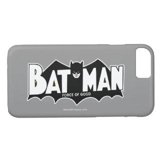 Kraft des Batman-| guten 60er Logos iPhone 8/7 Hülle