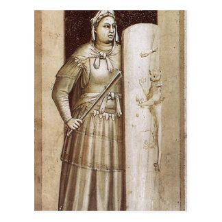 Kraft durch Giotto Postkarte