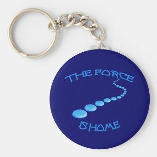Kraft ist ZuhauseFrisbee Schlüsselanhänger