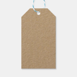 Kraftpapier-Geschenk-Umbau Geschenkanhänger
