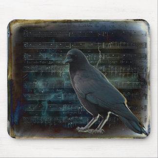 Krähe in der Musik Mousepads