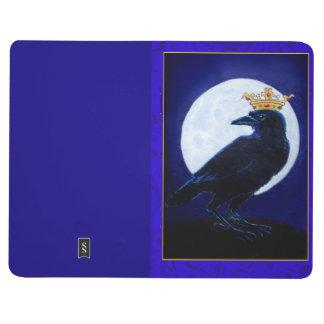 Krähen-König oder Königin mit Mond, Taschennotizbuch