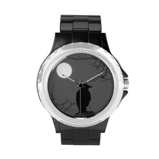 Krähen-Mond Uhren