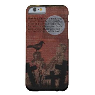 Krähen-Mond-Zauber-Kreuz Halloweens Vintages Barely There iPhone 6 Hülle
