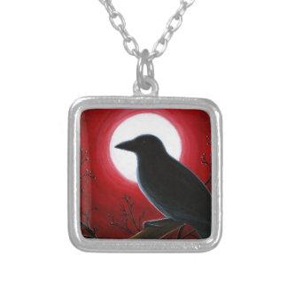 Krähen-Rabe des Vogel-62 Personalisierte Halskette