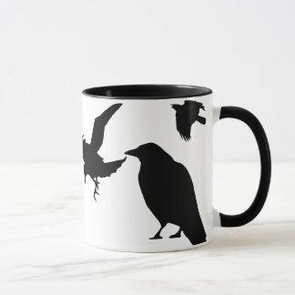 Krähen-Tanz-Kaffee-Tasse Tasse