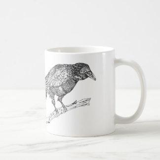 Krähen-Tasse Kaffeetasse