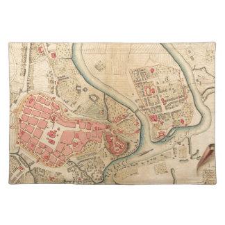 Krakau Polen 1755 Tischset