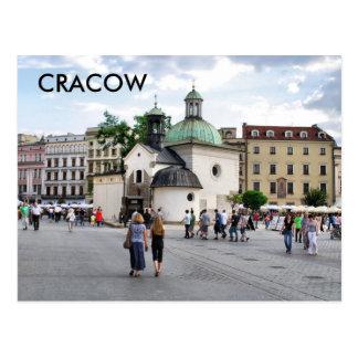 Krakau Postkarte
