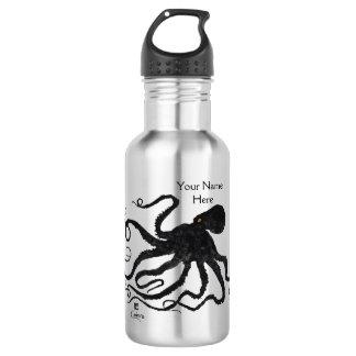 Krake 6 - 18 Unze. Wasser-Flasche Edelstahlflasche
