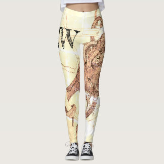 Krake Pazifik Nordwest Leggings