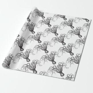 ☞ Krake / The Kraken Vintage Geschenkpapier