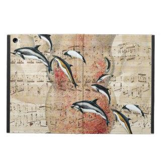 Krake und Delphin-Collage