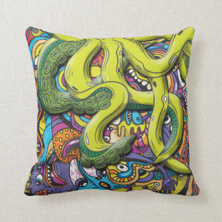 Kraken-Angriff Kissen