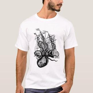 Kraken Angriff! Riesiger Krakenangriff T-Shirt