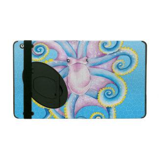 Kraken-Buntglas-Blau iPad Schutzhülle