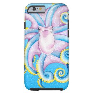 Kraken-Buntglas Tough iPhone 6 Hülle