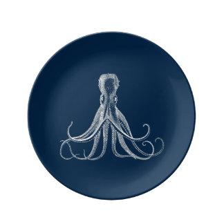 Kraken-China-Platte Teller