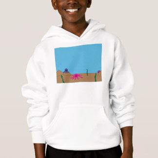 Kraken-Garten-Shirt Hoodie