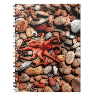 Kraken-Kiesel Notizblock