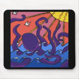 Kraken-Mausunterlage Mousepad