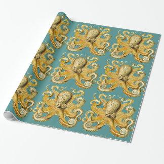 Kraken-Packpapier Geschenkpapier