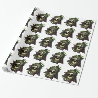 Kraken-Schädel-Schmutz Geschenkpapier