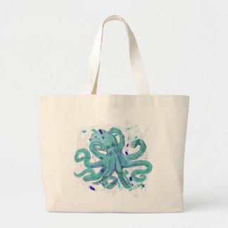Kraken-Tasche Jumbo Stoffbeutel
